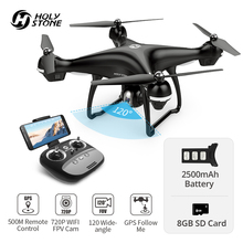 Holy Stone HS100 GPS Drone With 1080P 720P HD Camera FPV Wifi 120° FOV Wide Ang