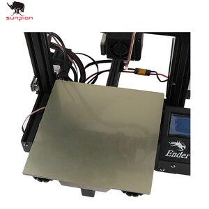 Запчасти для 3D-принтера 220x220 235x235 мм пружина для удаления стальной лист предварительно приложенный pei + гибкий магнитный горячий стикер для ...