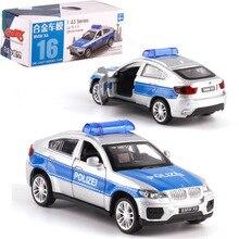Model 1:43 Logam Polisi