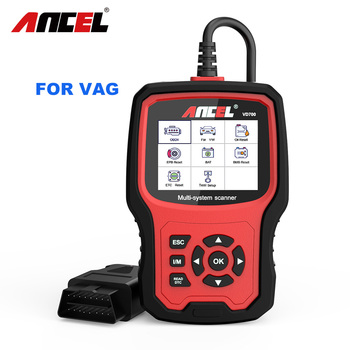 ANCEL VD700 OBD2 Scanner Diagnostic Tool For VAG Oil ABS EPB DPF SRS TPMS Reset OBD Automotive Scanner Car Diagnostic Tool цена 2017