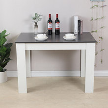 Kitchen Balcony Dining Table Home Study Desk Modern Wood Coffee Table Tea Table Office Conference Pedestal Desk Furniture HWC