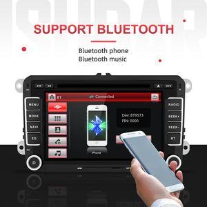 Image 3 - Isudar Car Multimedia player 2 Din Car DVD For VW/Volkswagen/Golf/Polo/Tiguan/Passat/b7/b6/SEAT/leon/Skoda/Octavia Radio GPS DAB