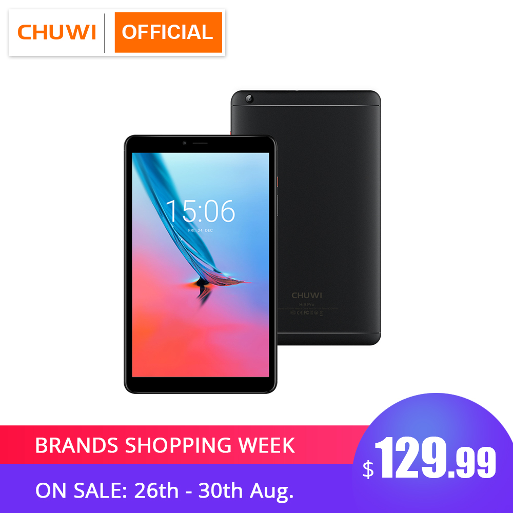 CHUWI Tablet PC Gps-Phone Mt6797x20 Deca-Core Hi9-Pro Android 8.0 4G LTE 2560--1600 3GB-RAM