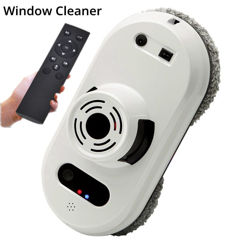 Window Cleaner Robot Remote Control Magnetic Electric Vacuum Cleaner High Tall Window Washing Glass Window Cleaning Robot