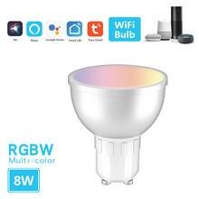 Tuya smart home wi fi умный светильник лампочка google/Голосовое