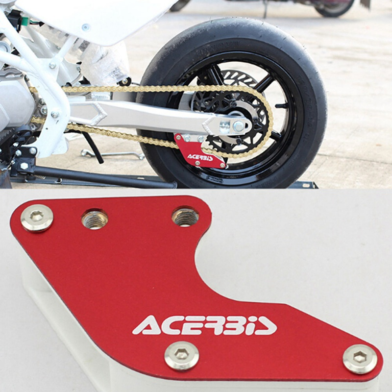 Motorcycle Alloy Chain Guard Guide Chain Protector Roller Dirt Pit Bikes