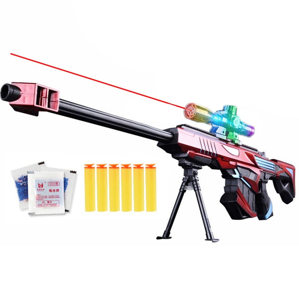 Gel Ball Blaster Toy Gun Paintball Airsoft Plastic Water Gun Weapon Game 15M Shoot Range Sniper Kid Gift Outdoor Toys Gun Boys