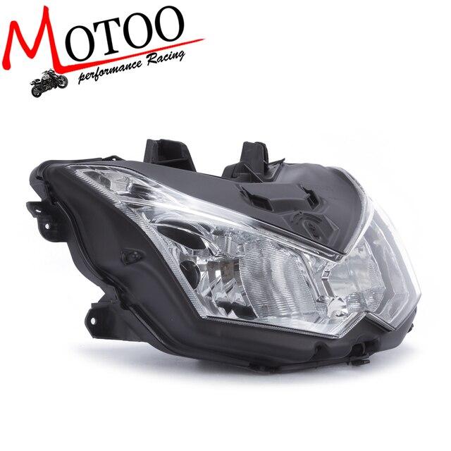 Motoo   The motorcycle head light lamp assembly for Kawasaki Z1000 2010 2011 2012 2013 lighthouse frontlight