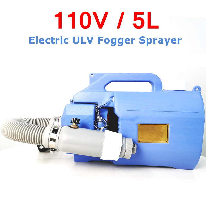 110V 5L Electric Cooling ULV Sprayer American Plug Atomizer 5L Capacity Mosquito Killer Handheld Disinfection Machine