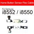 Шлейф для кнопки домой для Samsung Galaxy Win I8552 I8550 Кнопка возврата ключ датчик гибкий кабель Замена Ремонт