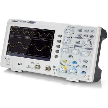 OWON SDS1102 Oscilloscope 2-Channel Digital Oscilloscopes 100MHZ Bandwidth 1GS/s High Accuracy Oscilloscope осциллограф dhl hantek mso5102d 100 1gs s 16 2