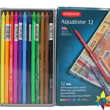Pencil Art-Supplies Watercolor-Pencil-Woodless 24-Color Drawing Hand-Painted School 12
