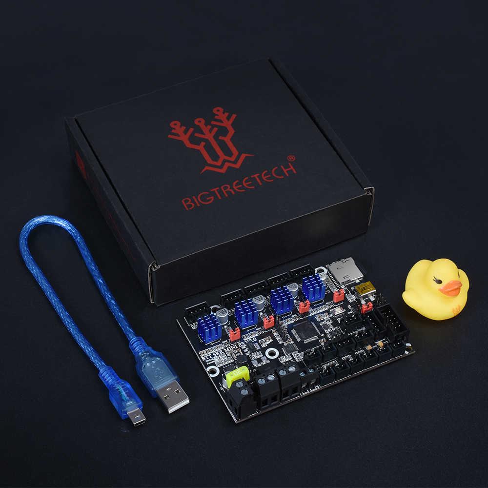 BIGTREETECH SKR MINI E3 V2 32bit tablero de Control con TMC2209 UART piezas de impresora 3D para Creality Ender 3 Pro actualización CR10 Kits