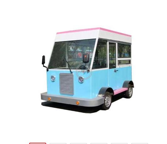 New Design Beautiful  3 M Long  Food Cart Multifunctional Electric Food Cart Customized  Food Truck