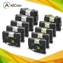 Recambio de cinta de Tubo termorretráctil para impresora Brother, Compatible con modelos HSe-211, 611, 221, 621, 231, 631, HSe, 241, 641, 251 y 651, 1 Uds.