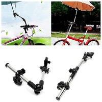 Rollstuhl Regenschirm Stecker Kinderwagen Edelstahl Regenschirm Steht Jede Winkel Swivel Fahrrad Regenschirm Halter Regen Getriebe Werkzeug Schirmständer    -