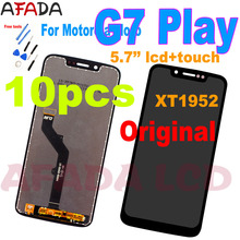 10PCS Original 5.7 inch For Motorola Moto G7 Play XT1952 LCD Display Touch Screen Digitizer Assembly Replacement Part недорого