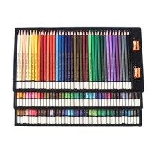 120/36/72/48 couleurs bois couleur crayons ensemble Lapis De Cor artiste peinture huile couleur crayon pour école dessin croquis Art fournitures