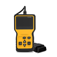 V310 Car Code Reader Auto AD310 OBD2 Scanner V1.1 16pin Male Engine Coolant Temp Speed Probe OBDII Diagnostic Tool