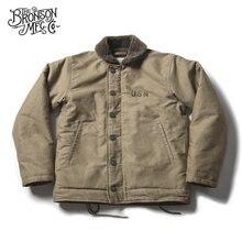 Винтажная Дизайнерская куртка Bronson USN, военная Униформа WW2, мотоциклетное Мужское пальто, 3 цвета
