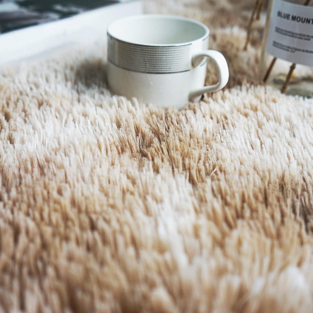 fibra de poliéster piso tapetes macios tapete