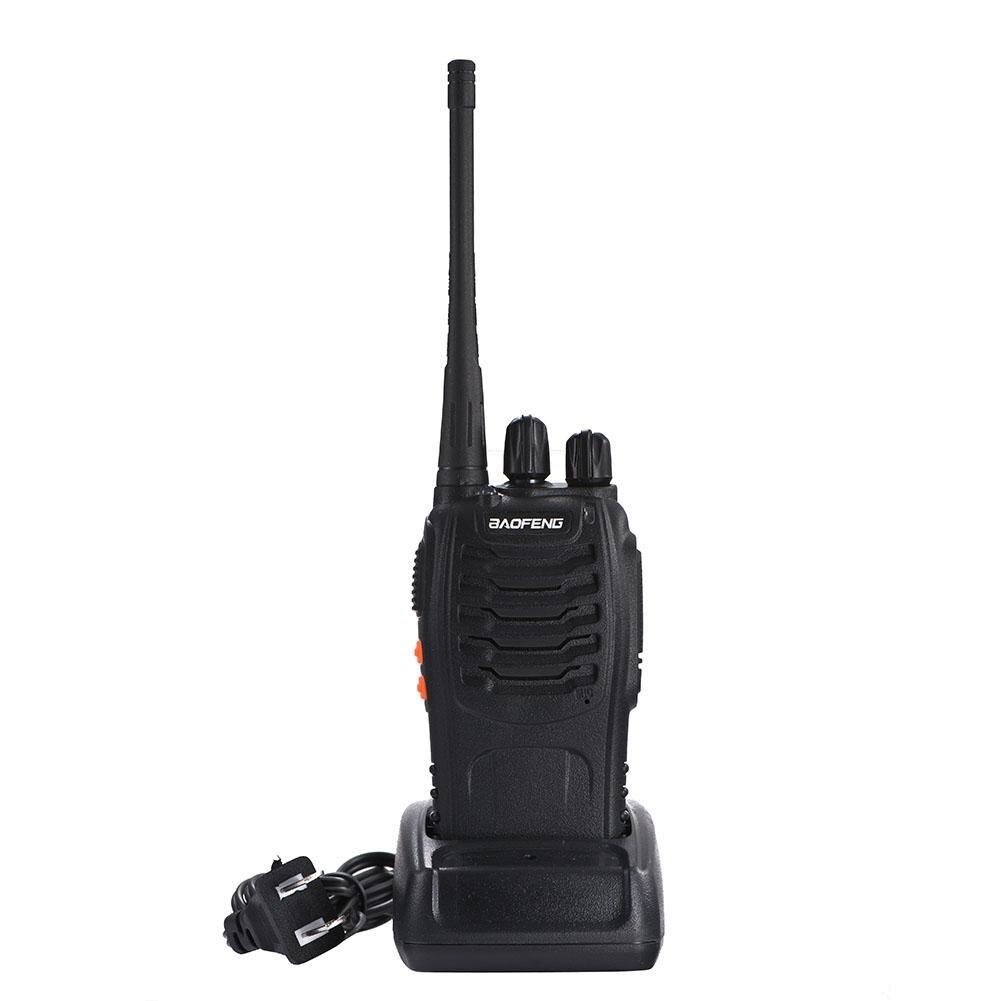 рация-Baofeng BF-888S Two Way Walkie Talkie Portable Handheld 16CH 1500mAh 400-470MHz FM Radio баофенг Talkie-Walkie Woki Toki