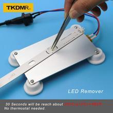 TKDMR 300 Вт алюминиевый светодиодный очиститель PTC нагревательная пластина паяльная чип удаление сварки BGA паяльная шариковая станция разделенная пластина