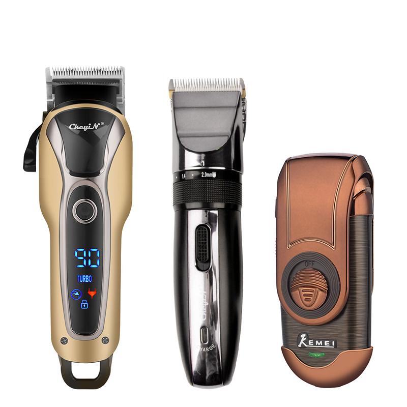 Professional Rechargeable Hair Trimmer hair clipper Electric Shavers Razor Shaving cutting Machine Beard Trimmer Shaver 45 1