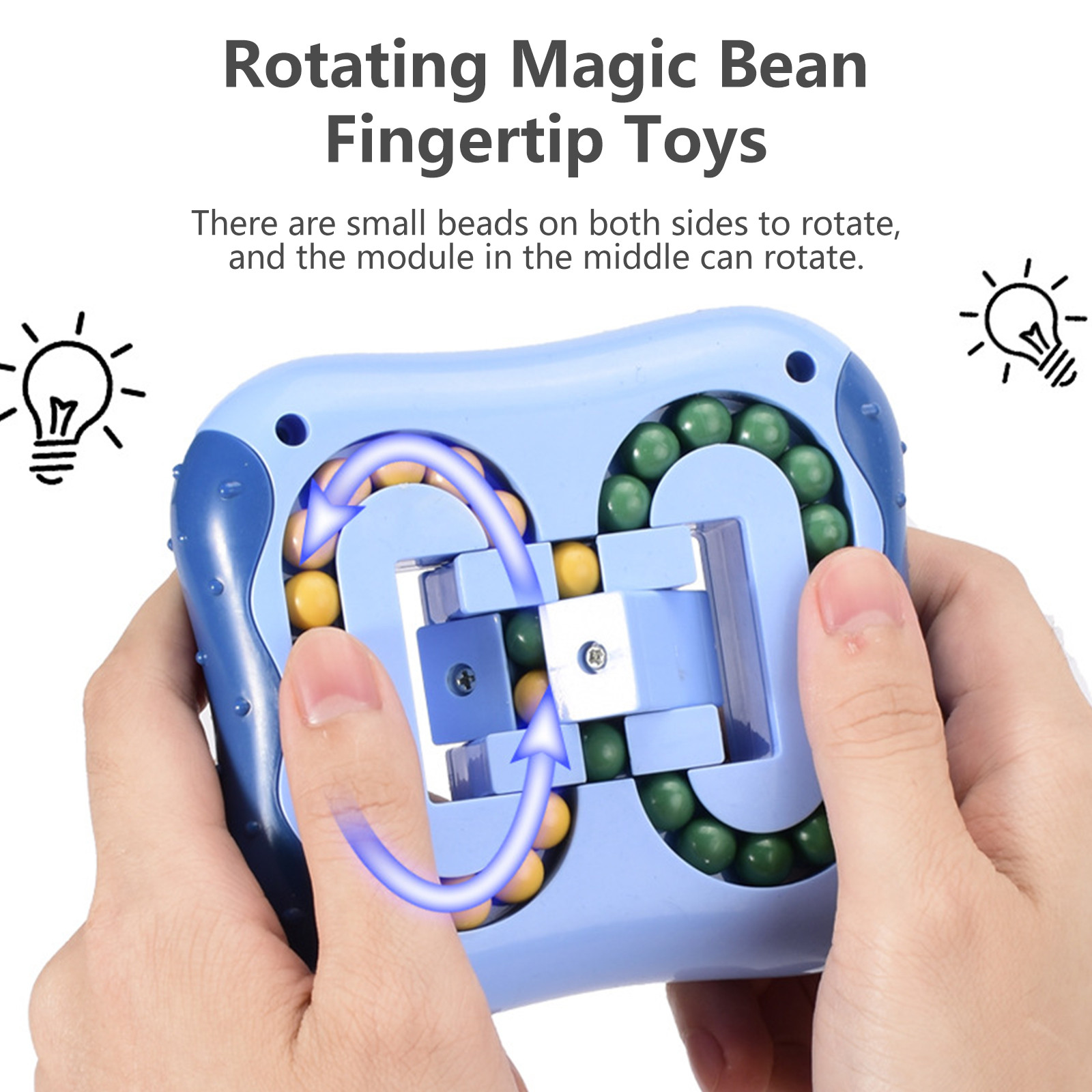 Toy Fidget Stress Decompression Magic-Beans Fingertip Rotating Spinning Relief-Toys img2
