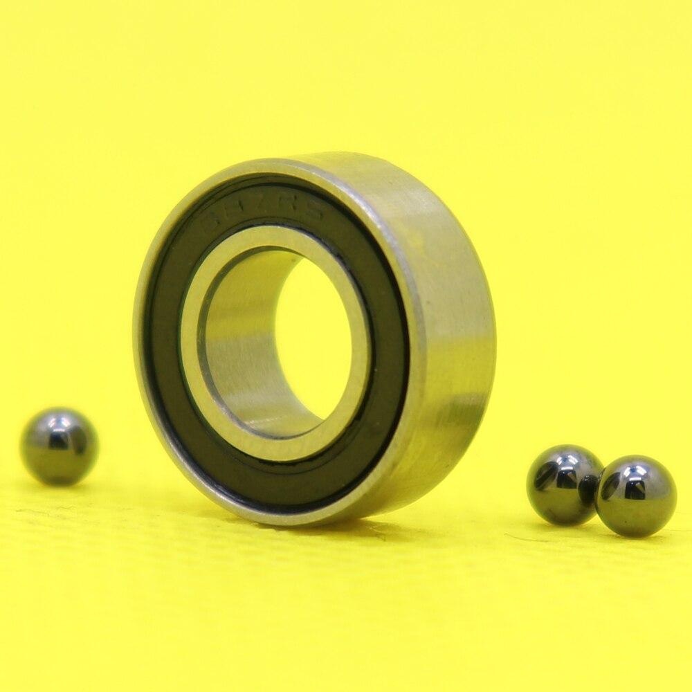 Si3N4 Ball Bearings 626RS 626 Hybrid Ceramic Bearing  6*19*6 mm  ABEC-1 1 PC