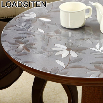 For Wedding Obrusy Na Obrus Kuchenny Tovaglie Toalha Mesa Plastic Ronde Round Cover Manteles Tablecloth PVC Nappe Table Cloth