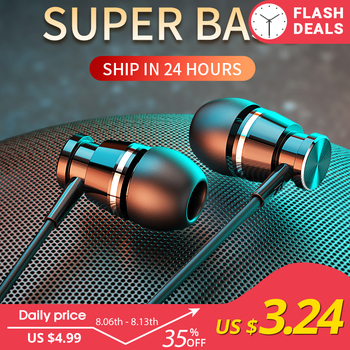 Langsdom Metal Wired Headphone Earphone In-ear with Mic Sports Bass Earbuds Headset for xiaomi iPhone auriculares fone de ouvido original cyshdai in ear earphones unique engine shape supper bass auriculares headset with mic for iphone ipad samsung mp3 mp4