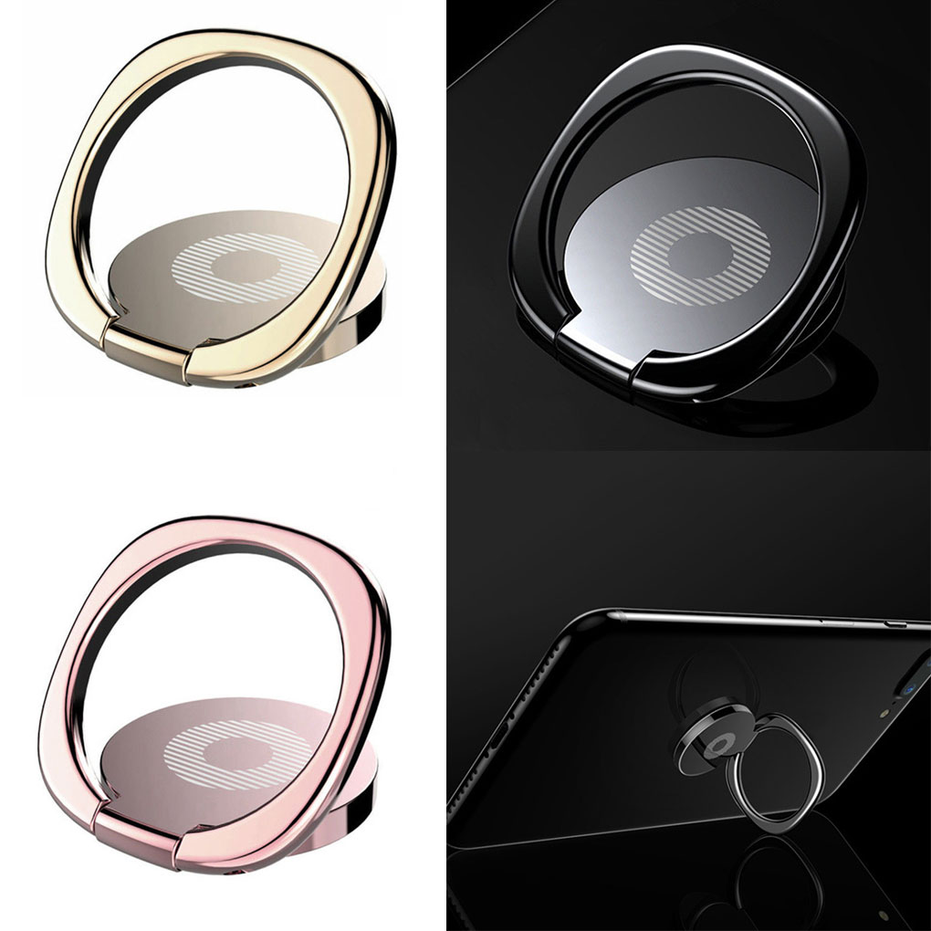 Universal Mini Car Holder Mobile Phone Ring Holder For iPhone for Samsung for Xiaomi Car Bracket Stand Support