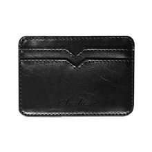 Maison Fabre Card Holder Wallet Purse Women Men Business Leather Bank Cardpackage Wallet Convenient Soft Solid Color Wallet Bag(China)