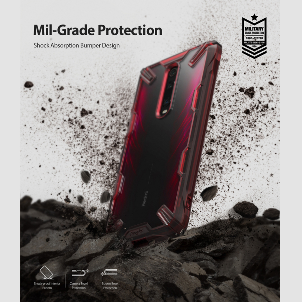 Image 5 - Ringke Fusion X for Xiaomi Mi 9T Case (Mi 9T Pro) Transparent Hard PC Back Soft TPU Frame for Redmi K20  (K20 Pro) Cover-in Fitted Cases from Cellphones & Telecommunications