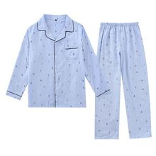 Mens Pajamas Men Sleepwear Cotton Pajama Spring Summer Pijama Hombre Sleep&Lounge Pyjamas Plus Size