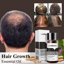 Эссенция для быстрого роста волос lanbena эффективно предотвращает
