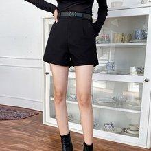 Женские осенне зимние Новые повседневные шорты с высокой талией