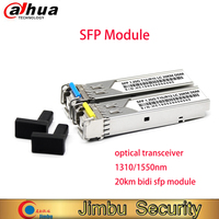 단일 모드 1.25G 광 트랜시버 모듈 SFP-1.25G-BIDI 1310/1550nm LC 포트 20km 완전 호환 1 쌍