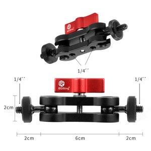 Image 5 - 4 кольцевой адаптер для горячего башмака, Кольцевое крепление для микрофона с адаптером Magic Arm для Zhiyun Smooth 4 ручного шарнира, аксессуары для цифровой зеркальной камеры
