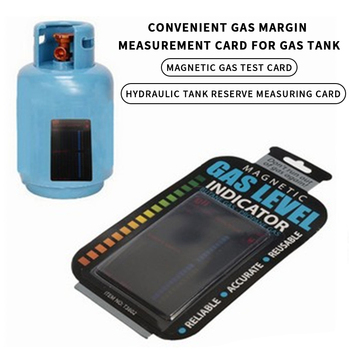 Magnetic Gas Cylinder Tool Portable Magnetic Gauge Propane Butane LPG Fuel Gas Tank Bottle Level Indicator Temperature Measuring