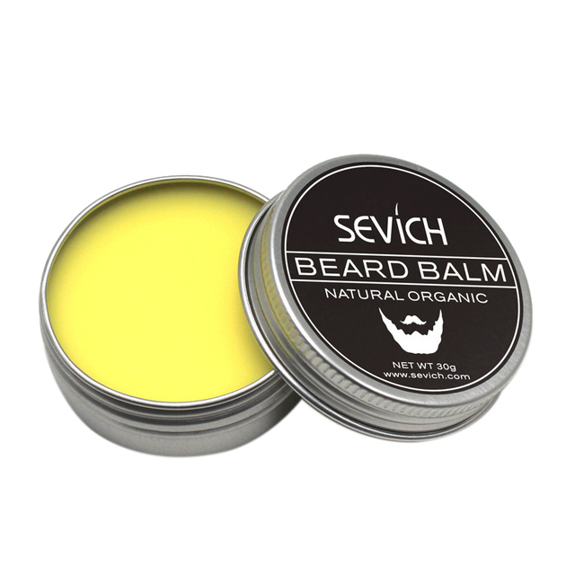 Sevich Natural Beard Balm Beard Conditioner Professional For Beard Growth Organic Mustache Wax For Beard Smooth Styling 1