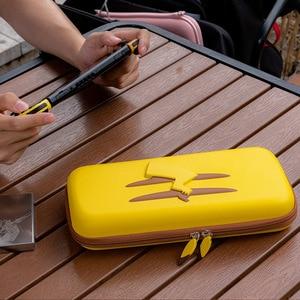 Image 1 - Dành Cho Máy Nintendo Switch Đựng NS Vàng Picachu Tăng Cường Túi Chống Sốc Ốp Lưng Cứng Túi Chống Nước