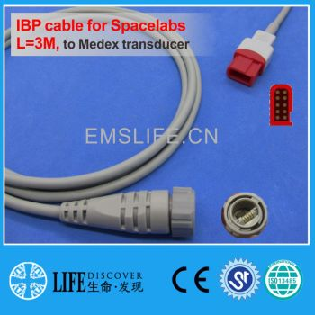 spacelabs IBP cable for Medex disposable pressure transducer image