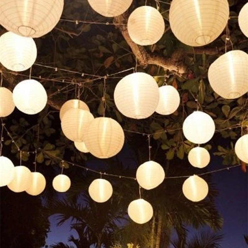 1pc10cm-60cm Round Chinese Paper Lantern Birthday Wedding Decor Gift Craft DIY Lampion White Hanging Lantern Ball Party supplies