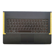 New Original Upper Case for Lenovo Yoga 3 Pro 13 1370 Palmrest Cover Keyboard Bezel with Touchpad 5CB0G97349 AM0TA000200