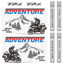 For Benelli TRK502 TRK 502 X 521 502X  new Motorcycle Tail Top Side Box cases Luggage Aluminium Stickers Decals ADV Adventure