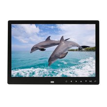 цена на Digital Picture Frame 12 inch Electronic Digital Photo Frame IPS Display with IPS LCD 1080P MP3 MP4 Video Player