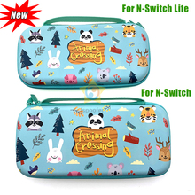 For Nintend Switch/Lite Accessories Storage Bag Protective Shell Cover Case For Nintendo Switch Lite Mini 16 Games+Tempered Glas