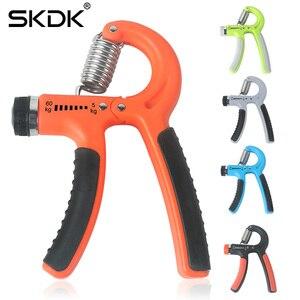 SKDK Fitness Hand Grip Adjustable Resistance 5-60Kg Men Finger Stretcher Exerciser Muscle Builder Hand Gripper